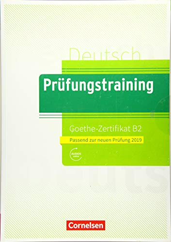 9783061217754 Prufungstraining Daf Goethe Zertifikat B2 2019