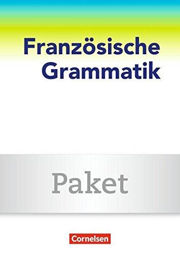 9783061217808: Französische Grammatik für die Mittel- und Oberstufe. Grammatikpaket (Besteht aus 022014-6, 022015-3 und 021449-5)