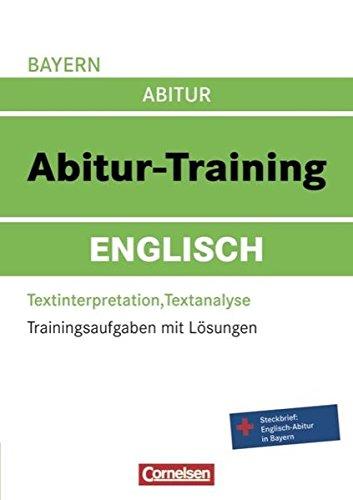 9783061500696: Abitur-Training Englisch - Bayern: Abitur-Training Englisch. Arbeitsbuch Bayern: Trainingsaufgaben mit Lösungen