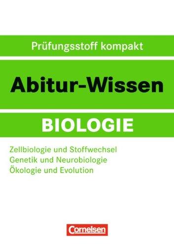 9783061501600: Zellbiologie und Stoffwechsel - Genetik und Neurobiologie - Ökologie und Evolution