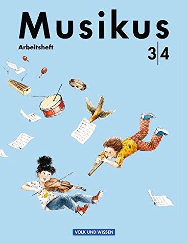 9783061503109: Musikus 3/4. Arbeitsheft. RSR