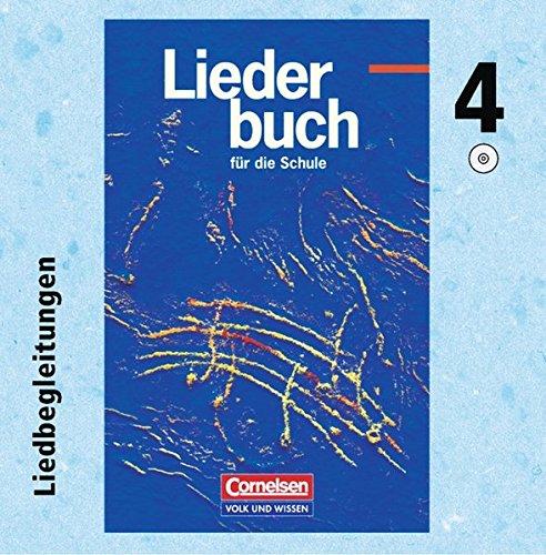 9783061522865: Liederbuch für die Schule - Zu allen Ausgaben: Musik-CD 4