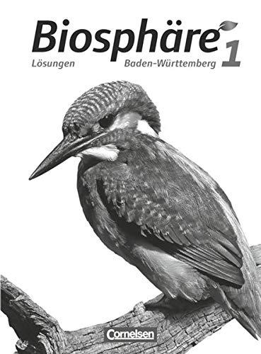 9783064200012: Biosphäre Sekundarstufe I Band 01: 5./6. Schuljahr. Lösungen zum Schülerbuch Baden-Württemberg