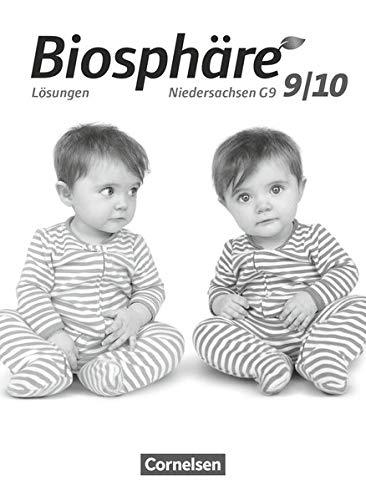 9783064200654: Biosphäre 9./10. Schuljahr. Lösungen zum Schülerbuch Sekundarstufe I - Niedersachsen G9