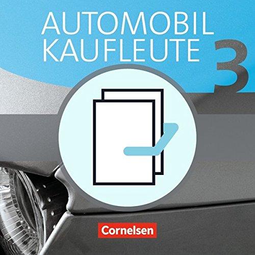 9783064503465: Automobilkaufleute 03. Fachkunde und Arbeitsbuch