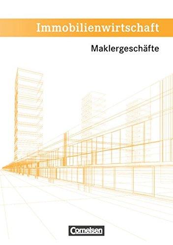 9783064503502: Immobilienwirtschaft. Maklergesch�ft. Sch�lerbuch