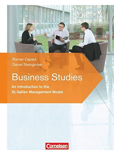 9783064508835: Betriebswirtschaft verstehen. Business Studies: An introduction to the St. Gallen Management-Model. Lehrbuch
