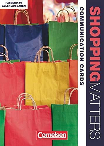 9783064510043: Shopping Matters A2-B1 Communication Cards: Dialog-, Rollen- und Bildkarten