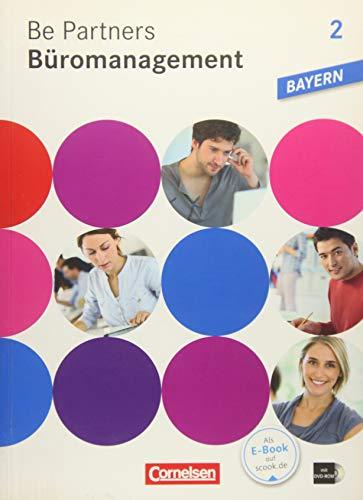 9783064510371: Be Partners - Büromanagement 2. Ausbildungsjahr. Fachkunde mit DVD-ROM. Ausgabe Bayern
