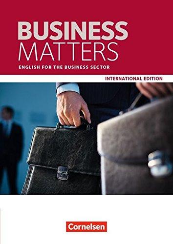 9783064513488: Matters International Edition - Business Matters A2/B2. Schülerbuch: English for the Business Sector