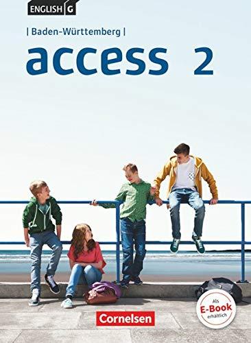9783065000192: English G Access Band 2: 6. Schuljahr - Baden-Wrttemberg - Schlerbuch
