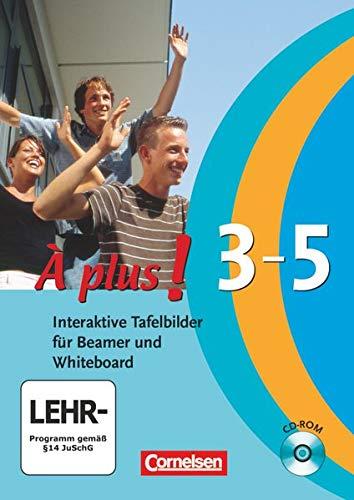 9783065200677: À Plus! Interaktiv - Interaktive Tafelbilder für Beamer und Whiteboard: Band 3, Band 4 (Cycle long/court) und Band 5 - CD-ROM