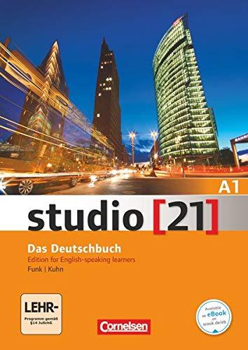 9783065201056: studio [21] Grundstufe A1: Gesamtband - Deutsch-Englisch: Kurs- und Übungsbuch mit DVD-ROM. DVD: E-Book mit Audio, interaktiven Übungen, Videoclips