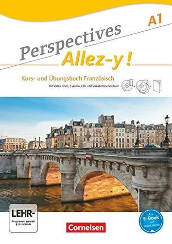 9783065201766: Perspectives - Allez-y! A1. Kurs- und Arbeitsbuch mit Lösungsheft und Wortschatztrainer