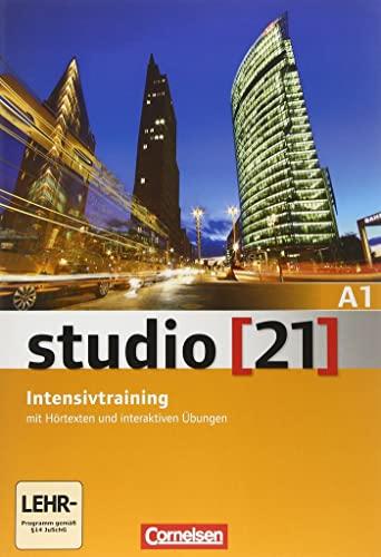 9783065204781: studio [21] Grundstufe A1: Gesamtband. Intensivtraining mit Audio-CD und Lerner-DVD-ROM: Intensivtraining A1 mit Audio-CD und Lerner DVD-Rom