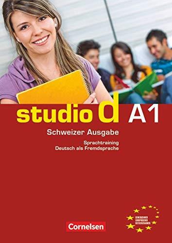 9783065204965: studio d - Schweiz Gesamtband A1. Sprachtraining mit eingelegten Lösungen