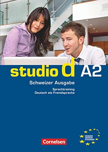 9783065204972: studio d A2: Gesamtband Schweiz. Sprachtraining mit eingelegten Lösungen