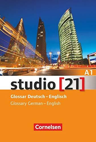 9783065205597: Studio 21: Glossar A1 Deutsch - Englisch (German Edition)