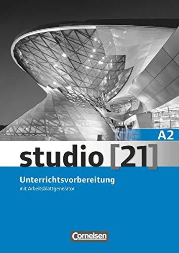 9783065205795: Studio 21 A2 Libro del profesor (Incluye CD)