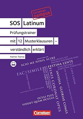 9783065206723: Cornelsen Campus Latein. Prüfungstrainer mit 12 Musterklausuren - verständlich erklärt: SOS Latinum. Mit Website zum Buch
