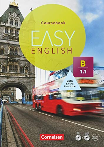 9783065208192: Easy English B1: Band 01. Kursbuch mit Audio-CD und Video-DVD