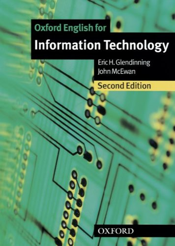 9783068000052: Oxford English for Information Technology - New Edition. Student's Book