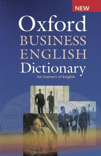 9783068001387: Oxford Business English Dictionary for Learners of English
