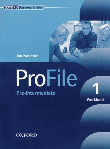 9783068001653: ProFile Level 1 - Workbook: Pre-Intermediate