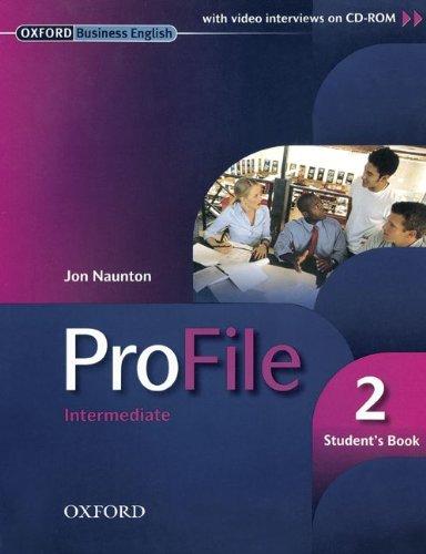 9783068001738: ProFile 2 - Student's Book / incl. CD-ROM: Intermediate