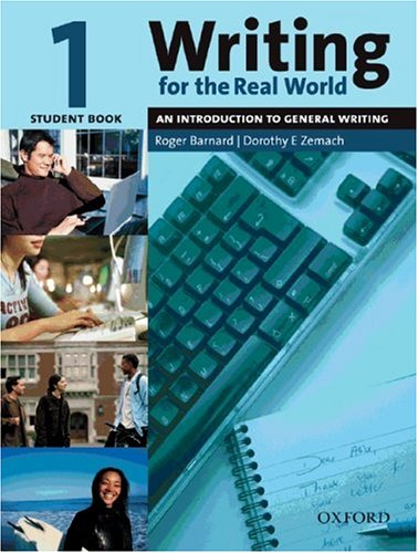 9783068001936: Writing for the Real World. Level 1. Student's Book