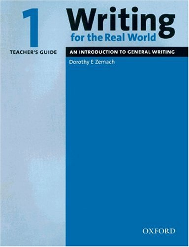 9783068001943: Writing for the Real World 1 / Teacher's Guide