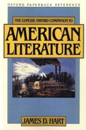 9783068005453: The Concise Oxford Companion to American Literature