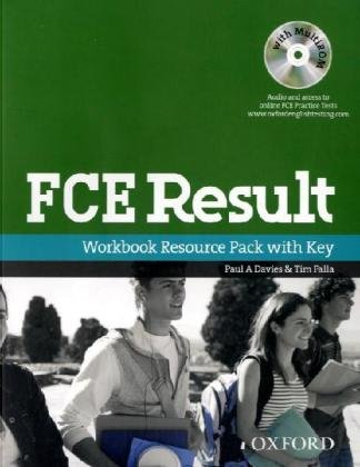 9783068005774: FCE Result. Upper-Intermediate: B2. Workbook with Key und Multi-CD-ROM