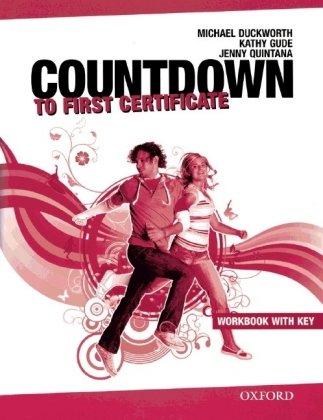 9783068005866: Countdown to First Certificate. Workbook mit Key und CDs