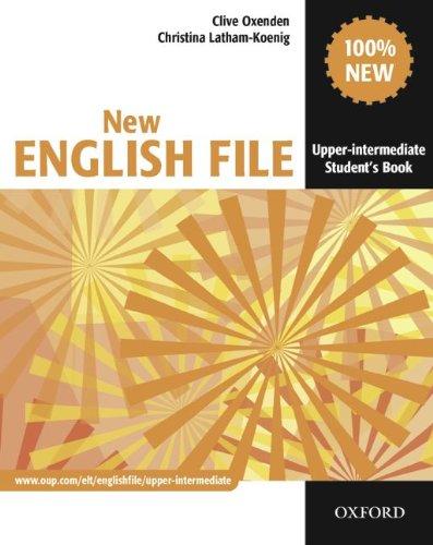 9783068005958: English File - New Edition. Upper-Intermediate. Student's Book