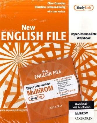 9783068005965: English File - New Edition. Upper-Intermediate. Workbook with Keybooklet and Multi-CD-ROM
