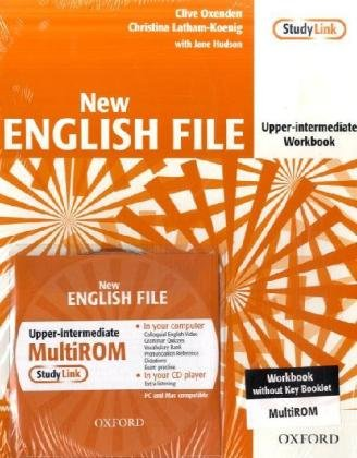 9783068005972: English File - New Edition. Upper-Intermediate. Workbook with Multi-CD-ROM