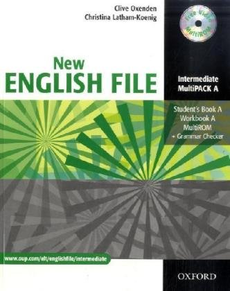9783068006108: English File - New Edition. Intermediate. Part A. Student's Book, Workbook with Key und Multi-CD-ROM