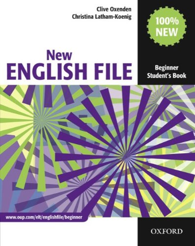 9783068009369: English File Beginner Student's Book
