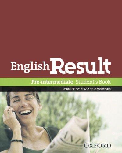9783068012154: English Result. Pre-Intermediate. Student's Book