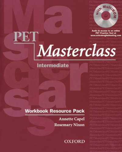 9783068013090: PET - Preliminary English Test. Intermediate Masterclass. Workbook