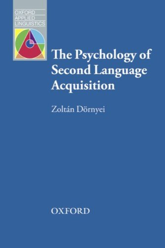 9783068013236: Resource Books for Teachers: Psychology of Second Language Aquisition