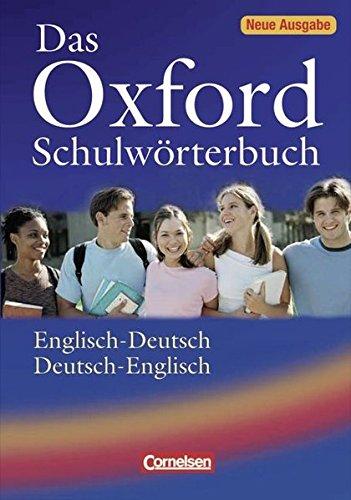 9783068014905: Das Oxford Schulwörterbuch: Englisch - Deutsch / Deutsch - Englisch