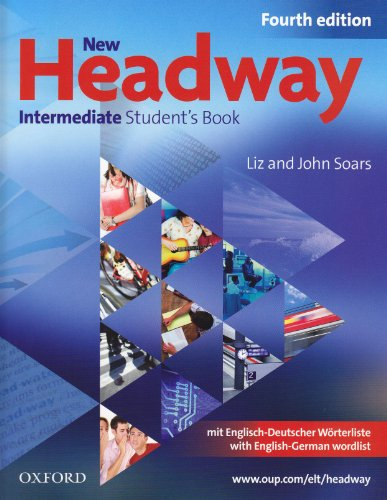 9783068016619: New Headway English Course. Intermediate German Edition: Student's Book mit zweisprachiger Vokabelliste mit CD-ROM