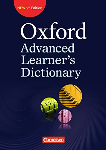 9783068018033: Oxford Advanced Learner's Dictionary (9th Edition), Klausurausgabe
