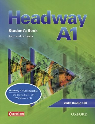9783068043608: Headway - CEF - Edition. Level A1 - Student's Book mit Class CD