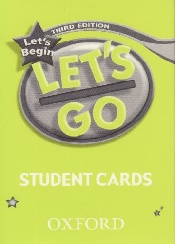 9783068044667: Let's Begin, Student Cards