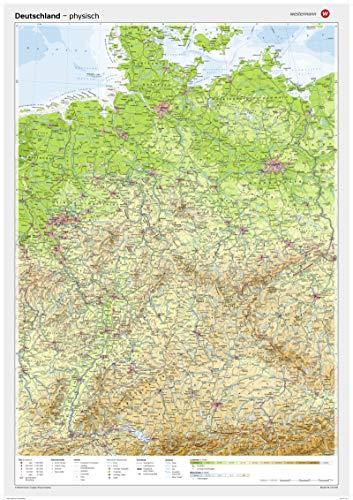 9783075020012: Westermann Posterkarten, Deutschland, physisch