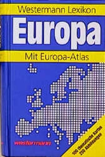 9783075094136: Westermann Lexikon Europa. Mit Europa - Atlas