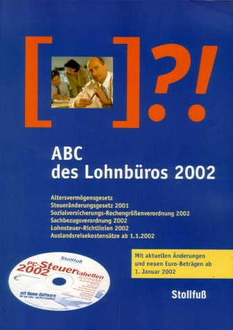 9783083178026: ABC des Lohnbüros, m. PC-Steuertabellen auf CD-ROM